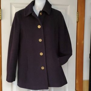 COACH. Stadium Wool /Mohair Blend Coat